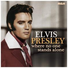 Elvis Presley Where No One Stands Alone LP (vinyl)
