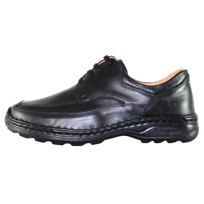 Pantofi casual barbati piele naturala - Gitanos negru - Marimea 43