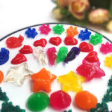Bilute,flori,forme  decorative gel isi maresc volumul in apa, 15 pachete