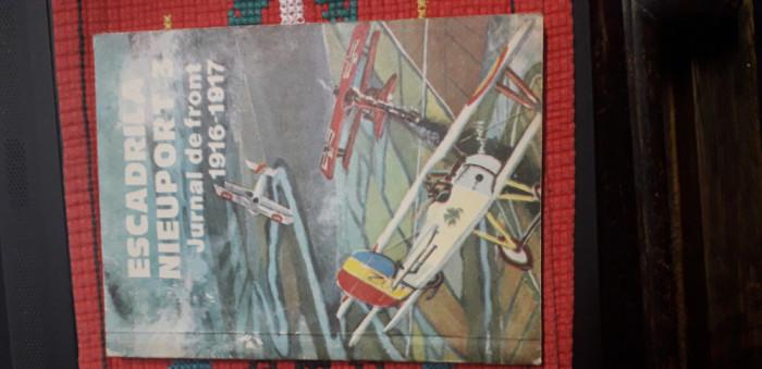 Escadrila Nieuport 3 - jurnal de front 1916- 1917