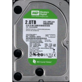 Hard disk Western Digital 2Tb  SATA 3 IntelliPower 64MB MODEL WD20EARX, 2 TB, 7200