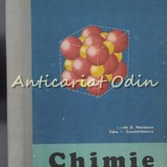 Chimie. Manual Pentru Anul I Liceu - Costin N. Nenitescu, Take V. Constantinescu