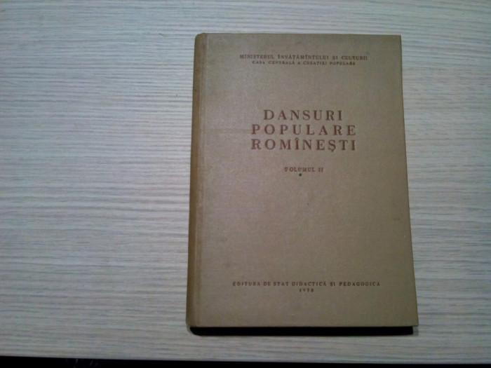 DANSURI POPULARE ROMANESTI * Vol. II - Gh. Baciu - Iosif Balint: pl. Colorate