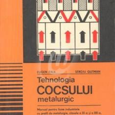Tehnologia cocsului metalurgic - manual clasa a XI a si a XII a