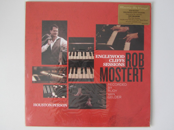 Rob Mostert-Englewood Cliffs Sessions Disc LP Vinyl-Vinil Jazz NOU-Sigilat