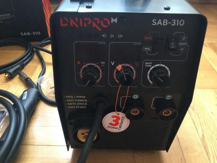 Invertor Sudura MIG/MAG si MMA -DNIPRO M Sab 310