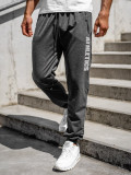 Pantaloni de trening grafit bărbați Bolf CE010