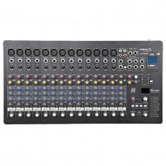 Mixer DJ BST Phantom, 16 canale, 48 V, USB