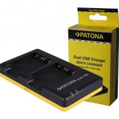 PATONA |Incarcator DUAL USB Patona pentru 2 acumulatori Sony NP-BG1 NPBG1 NP BG1