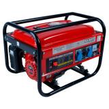 Raider - RD-GG02 - Generator de uz general, 2 kW, Raider, Raider, 5.5 CP, 14 l, pornire mecanica, benzina fara plumb, senzor lipsa ulei, protectie sup