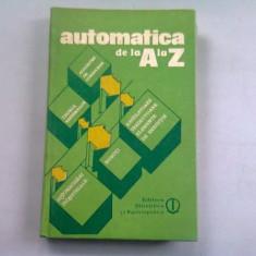 AUTOMATICA DE LA A LA Z - GABRIEL IONESCU