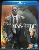 Man On Fire (BluRay), BLU RAY, Engleza