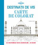 Destinații de vis. Carte de colorat