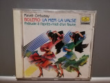 RAVEL/DEBUSSY - BOLERO/LA MER...(1988/Deutsche/RFG) - CD ORIGINAL/Nou/Sigilat, Deutsche Grammophon
