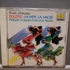 RAVEL/DEBUSSY - BOLERO/LA MER...(1988/Deutsche/RFG) - CD ORIGINAL/Nou/Sigilat