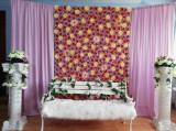 Panou floral multicolor photocorner