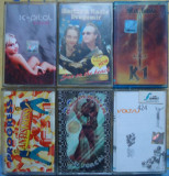 Lot 8 casete audio cu muzica romaneasca.