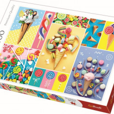 Puzzle familie Trefl 500 piese - Dulciuri delicioase