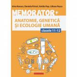 Memorator de anatomie, genetica si ecologie umana pentru clasele XI-XII, autor Daniela Firicel