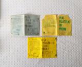 Lot de 3 plicuri filatelice din perioada comunistă, plicuri vechi timbre