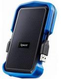 HDD Extern Apacer AC631, 2TB, USB 3.1, ShockProof, 2.5inch (Negru/Albastru)