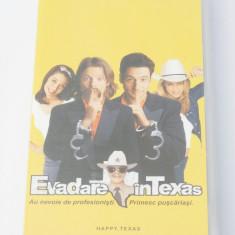 Caseta video VHS originala film tradus Ro - Evadare in Texas