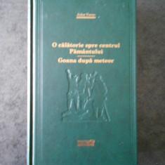 JULES VERNE - O CALATORIE SPRE CENTRUL PAMANTULUI. GOANA DUPA METEOR (ADEVARUL)