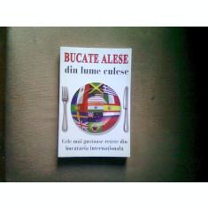BUCATE ALESE DIN LUME CULESE