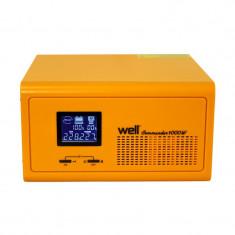 Cumpara ieftin UPS centrale termice Well Commander 230V/1000W, 2 x Schuko