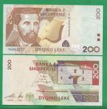 = ALBANIA - 200 LEKE - 2001 - UNC   =