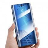 Husa Flip Carte CLEAR VIEW Huawei P30 Lite Albastru
