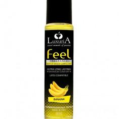 Lubrifiant Intim Banane Luxuria Feel, 60ml