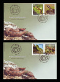 2011 Romania, 2 FDC Reptile din Romania LP 1887, plicuri prima zi