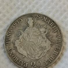 Austria 20 kreuzer 1843 B argint.... Cotatie dupa catalog 19 euro