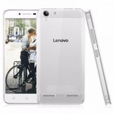 Husa de protectie ultraslim Lenovo K5/K5 PLUS A6020, transparent, Gel TPU, Carcasa