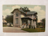 "GE - Ilustrata veche GOVORA ""Vila Eftimiu"" circulata 1909"