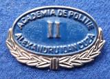 Insigna Militara - ACADEMIA DE POLITIE A.I. CUZA - Coifura insemn cascheta