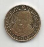 No(5) -moneda-50 bani-Iancu de Hunedoara 2016, Cupru (arama)