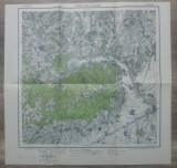 Buzaul Vest si Cislaul// harta Serviciul Geografic al Armatei 1939