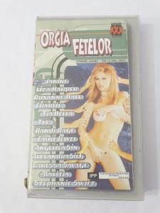 Caseta video VHS originala film tradus Ro XXX - Orgia Fetelor