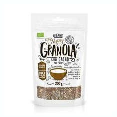 Mic Dejun Granola cu Cacao Bio Diet Food 200gr Cod: 5906660508830