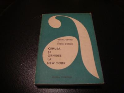 Vintila Corbul / E. Burada - Cenusa si orhidee la New-York- col Aventura - 1969 foto