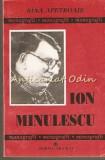 Ion Minulescu - Nina Apetroaie