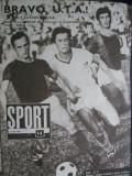 Revista Sport (1970) UTA campioana