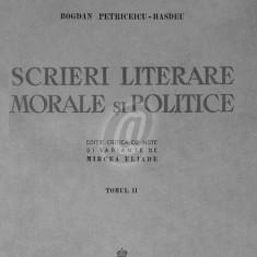 Scrieri literare, morale si politice, vol. 1, 2