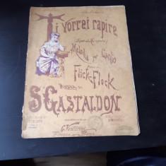 TI VORREI RAPIRE, MUZICA DE S. GASTALDON, VERSURI DE FLICK-FLOCK