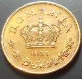 Moneda ISTORICA 1 LEU - ROMANIA, anul 1938   *cod 1980