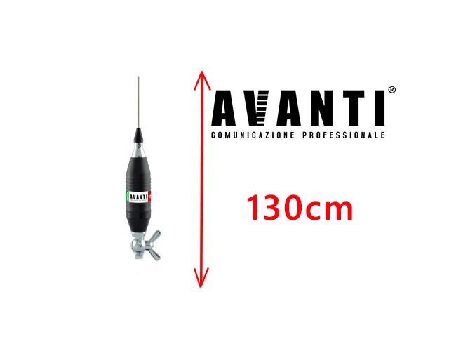 Antena Radio CB Avanti Volo 130 cm Prindere Tip Fluture