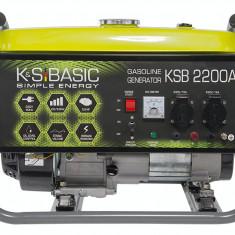 Generator Könner & Söhnen KSB 2200С, benzina, 2,2 kW