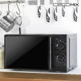 Cuptor cu Microunde Cecomix All Black 1367 20 L 700W Negru